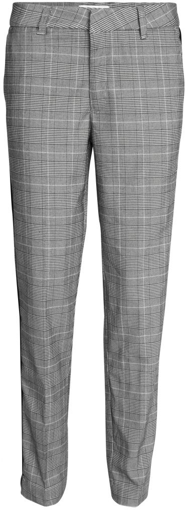 Sandy grey check