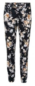 Sandy pant black flower