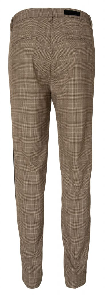Sandy pant brown check