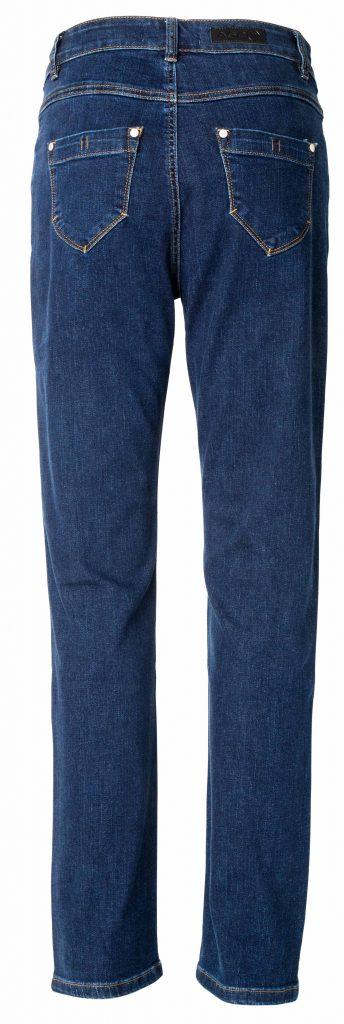 Net night blue jeans