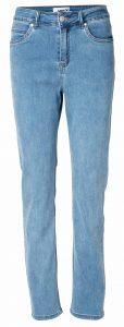 Net sky blue jeans