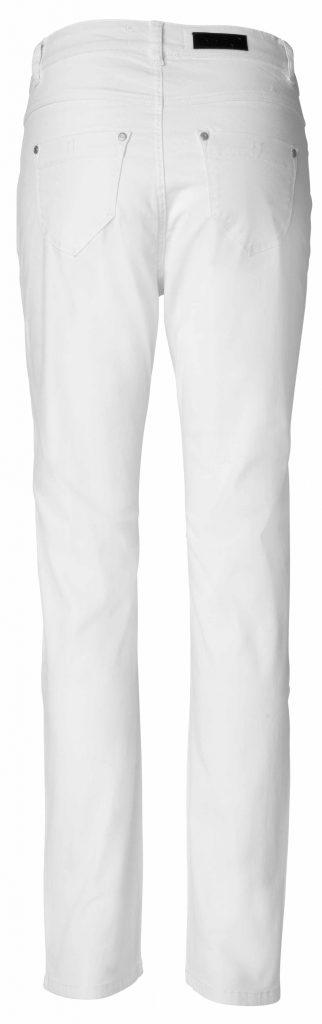 Net white jeans