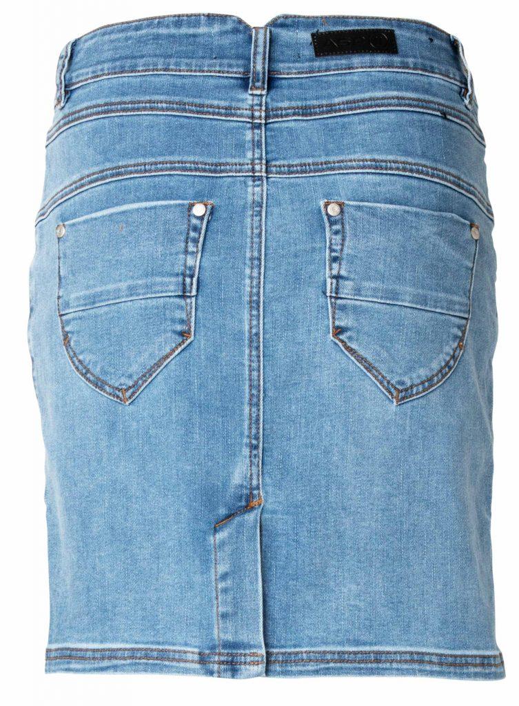 Sash sky blue skirt