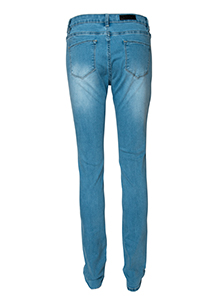 1064-1-1212 silk pant color 12 sky blue