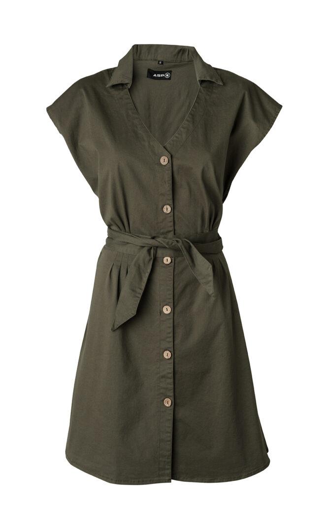 Sara dress 2172 army