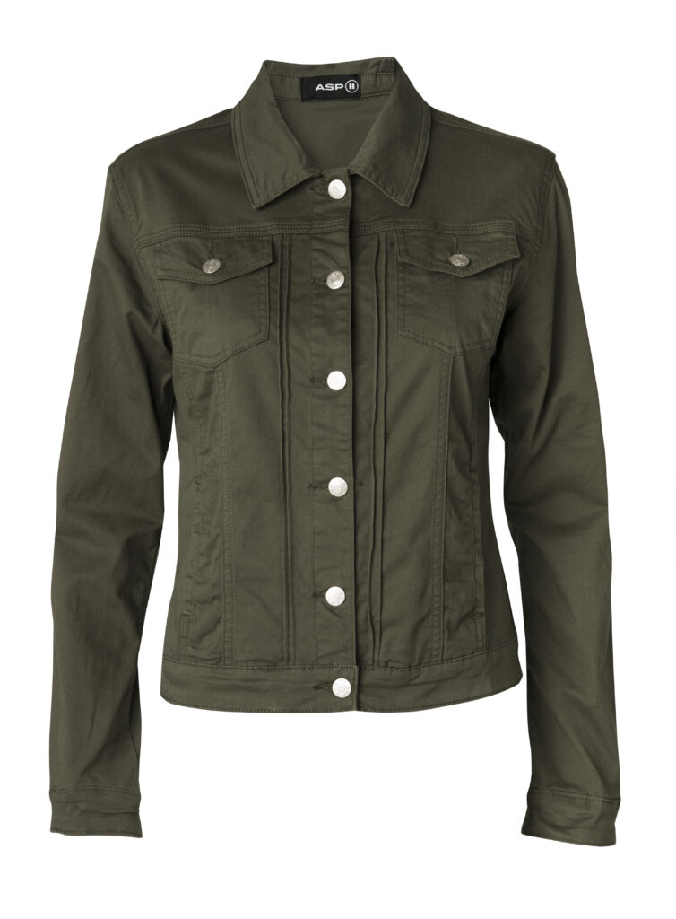 Louise jacket 1972 color army