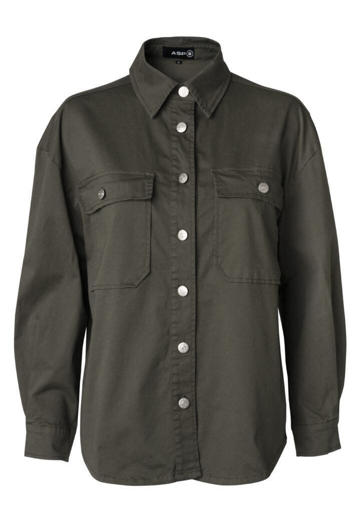 puk OZ jacket color army